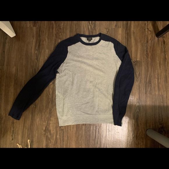 J.Crew men's cotton sweater medium